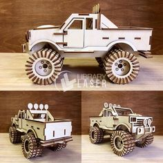 Items similar to puzzle - monster truck Digital design, design for laser CNC and CNC milling. on Etsy Cnc Router Plans, Cnc Plans, Cnc Woodworking, Cnc Laser, Laser Cut Wood, Laser Cutting, Laser Art, Laser Cutter Ideas, Laser Cutter Projects