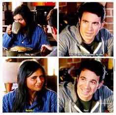 Danny and that face. Why must you toy with my emotions. Chris Messina, Modern Family Quotes, The Mindy Project, Mindy Kaling, Hooray For Hollywood, American Dad, Adventure Time Art, My Emotions, Music Tv