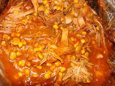 Aggieland Mommy Cooks: Crock Pot Brunswick Stew by Paula Deen