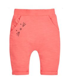 Detailansicht der Coral Mouse Jogger Detailed view of the Coral Mouse Jogger Baby Outfits, Toddler Outfits, Kids Outfits, Baby Girl Fashion, Toddler Fashion, Kids Fashion, Sewing For Kids, Baby Sewing, Usa Baby