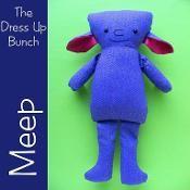 Meep - a monster dress up doll - via @Craftsy