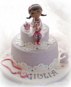 Dottoressa Peluche . Dotty. Frisoni Alessandra Studio Cake .