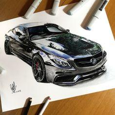 Mercedes C63s - SadekBell - Draw to Drive