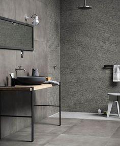 Powder: Azulejos para el cuarto de baño: cerámica y porcelánico - Marazzi