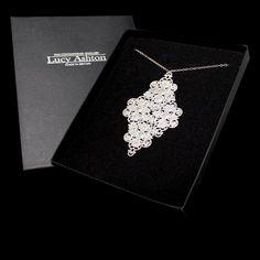 Image of Large Filigree Necklace