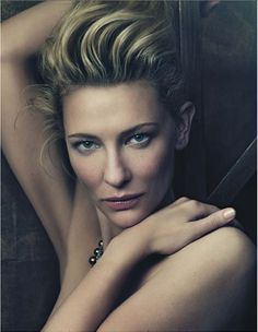 Cate Blanchett is... one of my favorite actresses..Classy!