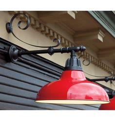 The Hitchen Post Warehouse Gooseneck Light 400 Barn Red