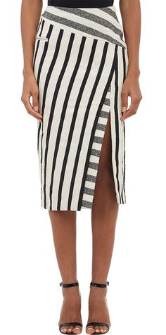 Black and ivory skirt ==