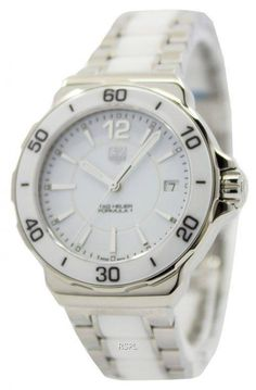 Shop large selection of women's watches like Tag Heuer Quartz Formula One Ladies Watch has Stainless Steel Case, Stainless Steel Bracelet, Quartz Movement, Sapphire Crystal Big Watches, Rolex Watches, Stainless Steel Bracelet, Stainless Steel Case, Tag Heuer Quartz, 200m, Design Elements, Bracelet Watch, Sapphire
