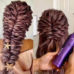 Long Hair Wedding Styles, Front Hair Styles, Medium Hair Styles, Curly Hair Styles, Hairdo For Long Hair, Bun Hairstyles For Long Hair, Bride Hairstyles, Indian Hairstyles, Hair Style Vedio