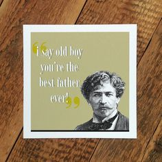 'The Best Father Ever' card for dads #FathersDay
