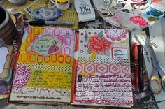 Chinatown Smash / Journal Smash Book Love, Smash Book Planner, Journal Inspiration, Journal Ideas, Scrap, Journalling, Art Journals, Paper, Creative