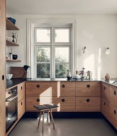 Minimal kitchen interior inspo interior design Kitchen minimalistic decor Light wood Source by Pilli Interior Ikea, Interior Simple, Interior Modern, Interior Design Kitchen, Minimal Kitchen Design, Interaction Design, New Kitchen, Kitchen Decor, Country Look