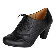 Refresh BH50 Women Leatherette Lace Up Oxford Chunky Heel Bootie - Black (Size: 8.0) Refresh http://www.amazon.com/dp/B00PRU8D7U/ref=cm_sw_r_pi_dp_T5gIwb0Q07J1F