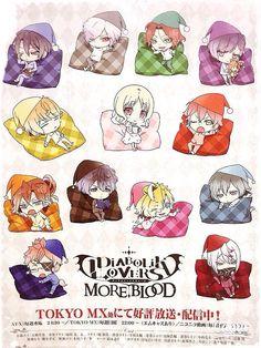 kawaii and diabolik lovers image Anime Chibi, Anime Kawaii, Anime Art, Diabolik Lovers Ayato, Ayato Sakamaki, Girls Anime, Anime Guys, Diabolik Lovers Wallpaper, Vampire Boy