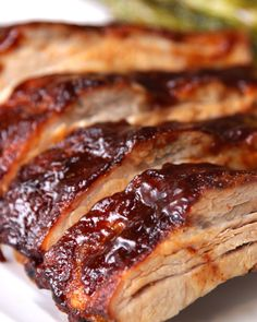 One-Pan Baby Back Ribs Recipe by Tasty Great rub for grilled ribs! Grill at med heat Burners on half of grill; put ribs on other hour. Add BBQ sauce, turn heat to high more minutes Rib Recipes, Salmon Recipes, Healthy Recipes, Smoker Recipes, Dinner Recipes, Seafood Recipes, Recipies, Snack Recipes, Dessert Recipes