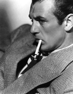 Trying hard to look like Gary Cooper. Actually, this is Gary Cooper. drewhawkins