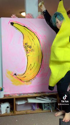 #banana #bananabreadrecipe #bananarecipes #bananabreadmuffins Banana Bread Muffins, Banana Bread Recipes, Dahlia, My Arts, Painting, Color, Instagram, Design, Painting Art
