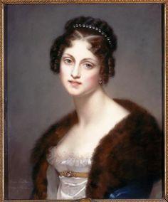 Dorothée Courlande, Duchesse de Dino et de Sagan by Catherine-Caroline Thévenin (Versailles)
