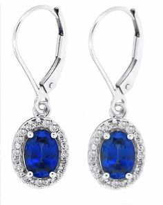1.84ct Oval Shaped Genuine Sapphire Earrings with Diamonds in 10Kt White Gold AB Quality) MyTreasurez,http://www.amazon.com/dp/B0056PKLOO/ref=cm_sw_r_pi_dp_hlixtb1Z8MND6895