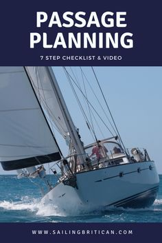 What do you need to consider when passage planning? What websites, software and apps are available to plot a sailing voyage from point A to B? Read the steps that Simon, Captain of Britican, uses before we set sail for our next destination. And then watch our Passage Planning video to get a behind-the-scenes snapshot[Read More] #Sailing #PassagePlanning #DeparturePlanning