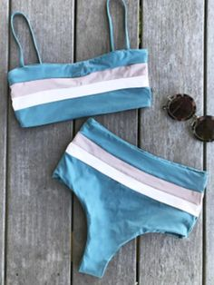 Glorious Days Print Sexy Bikini Set - New Ideas Cute Bikinis, Cute Swimsuits, Style Surfer, Two Piece Swimwear, Cute Bathing Suits, Summer Swimwear, Summer Suits, Lacey Chabert, Sexy Bikini