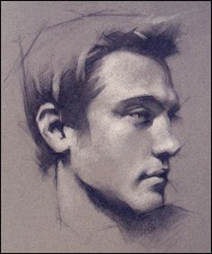 Charcoal Drawing : Jeff Haines
