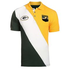 Show your support for the Green Bay Packers on casual Friday with this rugby polo! Green Bay Packers Fans, Cheap Clothes Online, Ralph Lauren Style, Moda Casual, Polo Shirt, T Shirt, Green And Gold, Rugby, Mens Tops
