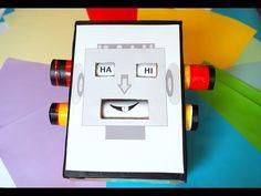 Robot uczuć/ zabawy emocje/ czytanie sylabowe / nauka czytania / edukacy...