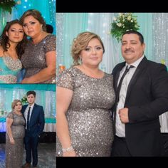 Dress All sequined beautiful dress, only wore once for my daughters quince. Got so many compliments on this dress !!! I felt beautiful in this dress, has a train & was very comfortable. Adrianna Papell Dresses Prom