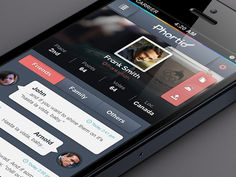 iOS App UI