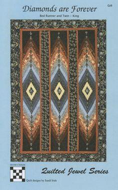 Bargello Quilt Patterns, Bargello Quilts, Quilting Designs, Quilting Ideas, Quilting Patterns, Braid Quilt, Bed Runner, Diamond Quilt, Barn Quilts
