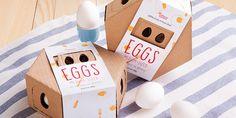 Breakfast Game – Egg package design
