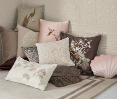 Find sophisticated detail in every Laura Ashley collection - home furnishings, children's room decor, and women, girls & men's fashion. Gingham Fabric, Pink Gingham, New Photo Frame, Striped Curtains, White Acrylic Paint, Childrens Room Decor, Pink Room, Living Room Grey, Home Furnishings