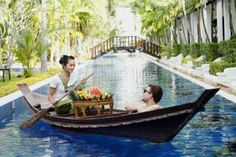 The uniquely designed Venice-style Access Resort in Phuket is well located, only a 10-minute walk or 3-minute ride from the beautiful Karon Beach.