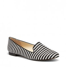 Slip-on printed flats in the beloved classic smoking slipper shape.