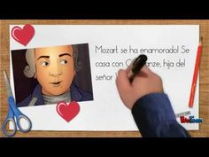 Cuento de Mozart para niños Music Class, Music Education, Amadeus Mozart, School Subjects, Elementary Music, Teaching Music, Bedtime Stories, Conte, Opera