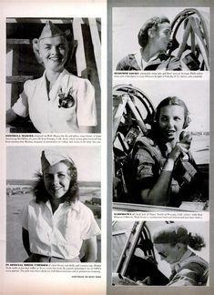 Women Air Service Pilots (WASP) in WW II