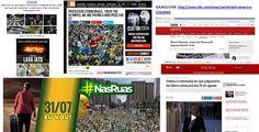 BRADO EM UNÍSSONO/THE CRY IN UNISON: #Brazil Senate votes for Rousseff…