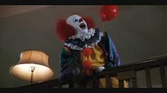 Scariest Movie Villains: Pennywise the Clown - YouTube