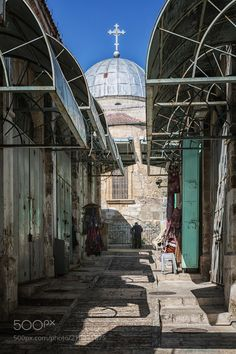 Old City by jimbos from http://500px.com/photo/210971675 - The Old City of Jerusalen is a 0.9 square kilometers within the modern city of Jerusalem. Until 1860 when the Jewish neighborhood Mishkenot Sha'ananim was established this area constituted the entire city of Jerusalem. The Old City is home to several sites of key religious importance: the Dome of the Rock and al-Aqsa Mosque for Muslims the Temple Mount and Western Wall for Jews and the Church of the Holy Sepulchre for Christians It…
