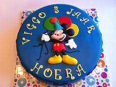 Taarten; Gemaakt door Jonne: Mickey Mouse taart