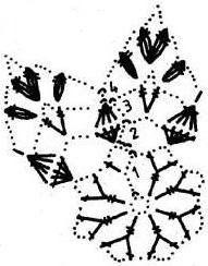 snowflakes crochet 173 schema 7