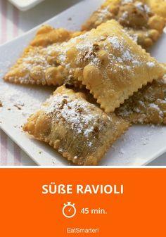 Süße Ravioli - smarter - Zeit: 45 Min. | eatsmarter.de