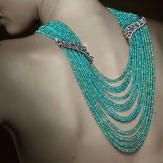 #LongHaul #necklace by @veschettijewelry #ParaibaTourmaline 200 #carats with #sapphire and #brilliant #cut #diamond  _____  #collar de #LargoRecorrido de #VeschettiCollection 200 #quilates de #TurmalinaParaiba con #zafiros y #brillantes _____  @Regrann from #veschettijewelry -  #Paraiba #tourmalines necklace #veschetti #elegant #precious #MagnificientJewels  _____  #DeJoyaEnJoya #FromJewelToJewel #FineJewelry #luxury #InstaJewels #loops #MadeInItaly #blue