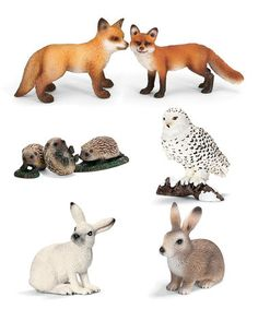Loving this European Wildlife Figurine Set on #zulily by Schleich, $17 !! #zulilyfinds