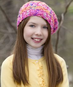 Go Bright Hat Knitting Pattern  #knit  I'm really getting into knitting lately..this looks fun. #redheartyarn