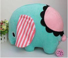 New Kawaii San-X Sentimental Circus Plush Toy Elephent Cute Plush