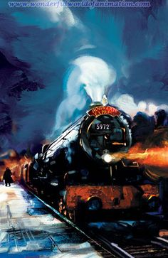Hogwarts Express Other Studios giclee on paper Animation Art giclee on paper of Hagrid From Other Studios