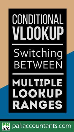 Say you have multiple data ranges and you have to apply VLOOKUP on one particular range based on criteria. Learn in this awesome tutorial. dashboard formula core book and cheat sheets Visual Basic Programming, Computer Programming, Microsoft Excel Formulas, Excel Hacks, College Life Hacks, Leadership Quotes, Education Quotes, Data Analytics, Good To Know